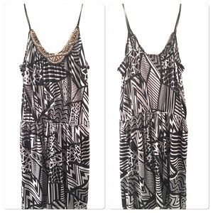 Soprano Dress With Spaghetti Straps Size Large